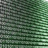 szyka binary matryca Zdjęcie Royalty Free