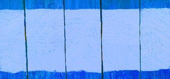 Szyldowa drewno deska z kolor farbą, przestrzeń dla teksta, tło ilustracja wektor