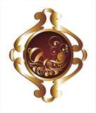 szyldowy aquarius zodiak Obraz Royalty Free