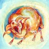 szyldowy aries zodiak Zdjęcie Stock