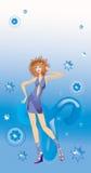 szyldowy aries zodiak Zdjęcia Royalty Free