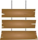 szyldowy drewniany Obrazy Stock