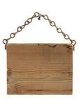 szyldowy drewno Obrazy Royalty Free