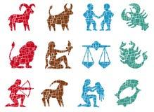 szyldowy kwadratowy zodiak Zdjęcie Stock