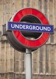 szyldowy metro Obraz Royalty Free