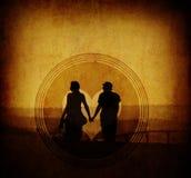 szyldowy miłość rocznik Obraz Royalty Free