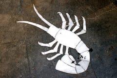 szyldowy nowotworu zodiak zdjęcie stock