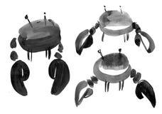 szyldowy nowotworu zodiak ilustracja wektor