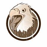 szyldowy orła rocznik Obraz Royalty Free