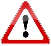 szyldowy ostrzeżenie Fotografia Stock