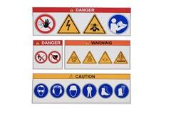 szyldowy ostrzeżenie Obraz Royalty Free