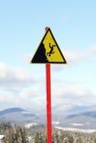 szyldowy ostrzeżenie Obraz Stock
