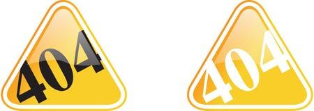 szyldowy ostrzegawczy kolor żółty Obrazy Royalty Free