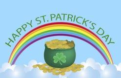 szyldowy Patrick st Zdjęcie Stock