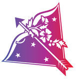 szyldowy sagittarius zodiak Zdjęcia Stock