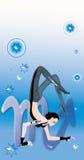 szyldowy scorpio zodiak Obrazy Royalty Free