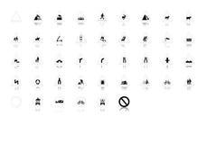 Szyldowy symbol royalty ilustracja