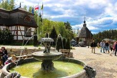 Szymbark, Polonia - 3 de mayo de 2014 fotografía de archivo libre de regalías