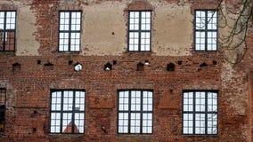 Szymbark slott i Polen Fotografering för Bildbyråer