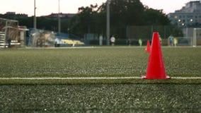 Szyszkowi markiery dla futbolu amerykańskiego Gładzi suwaka strzał i zwalnia zbiory wideo