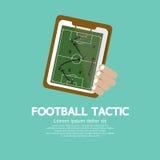 Táctica del fútbol. Foto de archivo libre de regalías