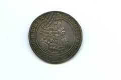 Tálero de plata de Leopold I Imágenes de archivo libres de regalías