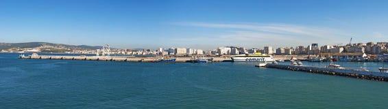 Tánger, Tánger, Tánger, Marruecos, África, África del Norte, costa de Maghreb, Estrecho de Gibraltar, mar Mediterráneo, Océano At Imagen de archivo libre de regalías