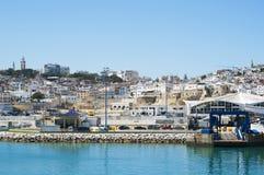 Tánger, Tánger, Tánger, Marruecos, África, África del Norte, costa de Maghreb, Estrecho de Gibraltar, mar Mediterráneo, Océano At Fotos de archivo libres de regalías