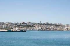 Tánger, Tánger, Tánger, Marruecos, África, África del Norte, costa de Maghreb, Estrecho de Gibraltar, mar Mediterráneo, Océano At Foto de archivo