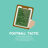 Tática do futebol. Foto de Stock Royalty Free