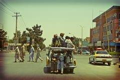 Táxi!!! Fotografia de Stock Royalty Free