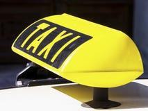 Táxi Imagem de Stock