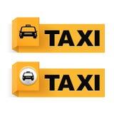 táxi Fotografia de Stock Royalty Free