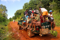Táxi africano Imagem de Stock Royalty Free