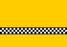 Táxi amarelo Fotografia de Stock Royalty Free
