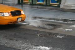 Táxi amarelo Imagens de Stock Royalty Free
