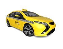 Táxi amarelo Foto de Stock