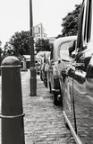 Táxi brilhante Fotografia de Stock Royalty Free