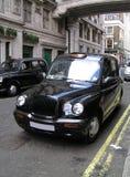 Táxi clássico de Londres Fotografia de Stock Royalty Free
