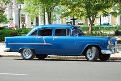 Táxi cubano. Imagens de Stock