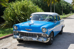 Táxi cubano Foto de Stock Royalty Free