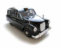 Táxi de Austin - carro modelo. Passatempo, coleção Fotografia de Stock