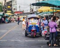 Táxi de Banguecoque Foto de Stock Royalty Free