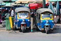 Táxi de Banguecoque Fotos de Stock Royalty Free