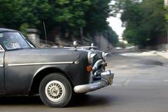 Táxi de Havana Fotografia de Stock