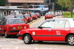 Táxi de Hong Kong Imagens de Stock
