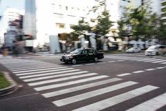 Táxi de Japão Fotografia de Stock