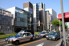 Táxi de Nagoya Imagem de Stock