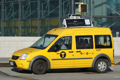 Táxi de New York City Imagens de Stock