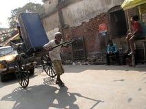 Táxi de Riksha Foto de Stock